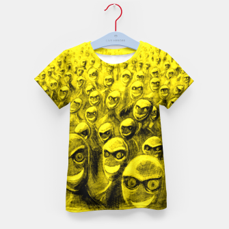 Thumbnail image of SmileyHorde Kid's T-shirt, Live Heroes