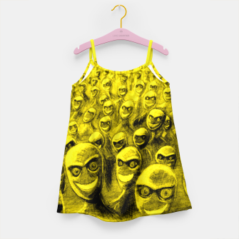 Thumbnail image of SmileyHorde Girl's Dress, Live Heroes