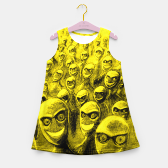 Thumbnail image of SmileyHorde Girl's Summer Dress, Live Heroes