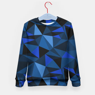 Miniatur Camo blue kid-sweater-HiddeN LocatioN, Live Heroes