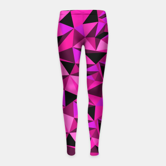 Miniatur Camo pink girl´s leggings - HiddeN LocatioN, Live Heroes