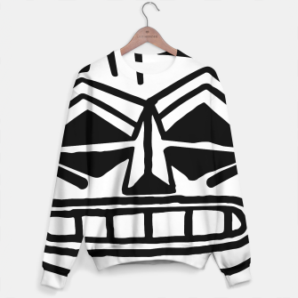 Miniatur Angry White Mask sweater - Hidden Location, Live Heroes
