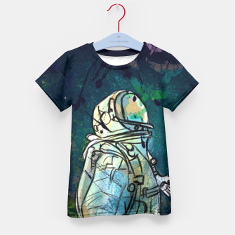 Spaceman Kid's T-shirt thumbnail image