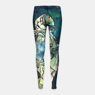 Spaceman Girl's Leggings thumbnail image