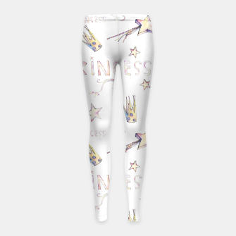 Miniaturka Princess Girl's Leggings, Live Heroes