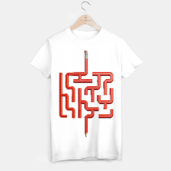 Thumbnail image of The Maze Writer T-shirt, Live Heroes