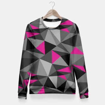 Miniatur Camo pink fitted sweater - HiddeN LocatioN, Live Heroes