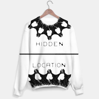 Miniatur Back to Skull' B/W Sweater - HiddeN LocatioN, Live Heroes