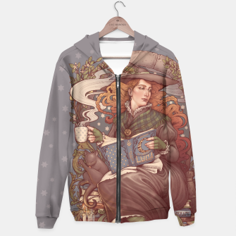 Thumbnail image of NOUVEAU FOLK WITCH Sudadera con capucha, Live Heroes