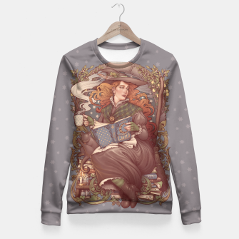 Thumbnail image of NOUVEAU FOLK WITCH Sudadera entallada, Live Heroes