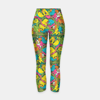 Imagen en miniatura de Crocodile party Yoga Pants, Live Heroes