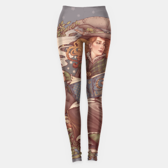 Thumbnail image of NOUVEAU FOLK WITCH Leggings, Live Heroes
