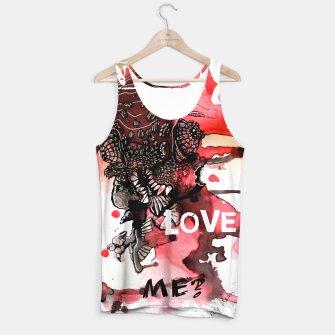 Thumbnail image of Can You Love ME Tank Top, Live Heroes