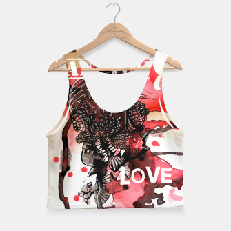 Thumbnail image of Can You Love ME Crop Top, Live Heroes