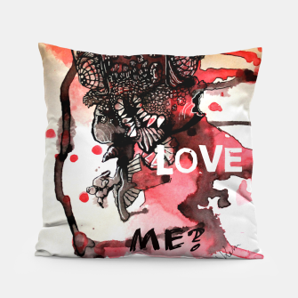 Thumbnail image of Can You Love ME Pillow, Live Heroes
