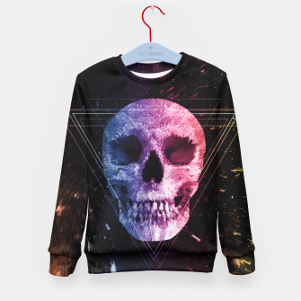 Thumbnail image of Skull/Triangle Kid's Sweater, Live Heroes
