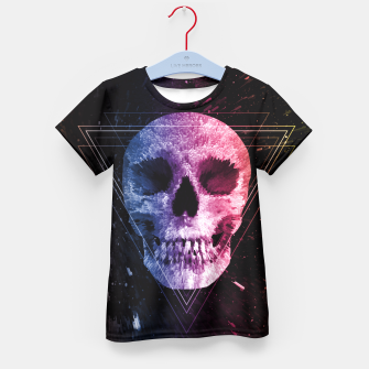 Thumbnail image of Skull/Triangle Kid's T-shirt, Live Heroes