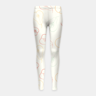 Thumbnail image of Pears Girl's Leggings, Live Heroes