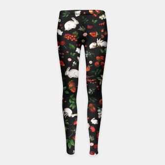 Thumbnail image of Sweet Bunnies kids Leggings, Live Heroes