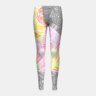 Thumbnail image of blt2 Girl's Leggings, Live Heroes