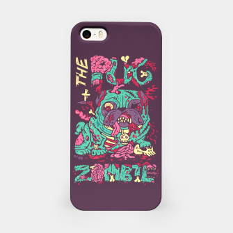Imagen en miniatura de The Pug Zombie iPhone Case, Live Heroes