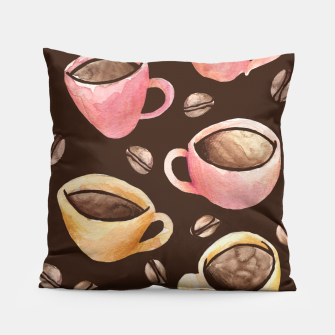 Miniatur Coffee House Barista  Pillow, Live Heroes