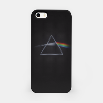 Miniature de image de The Dark Side of The Ugly Christmas Sweater (Cool Dark Side of the Moon Music Parody) T-Shirt iPhone Case, Live Heroes