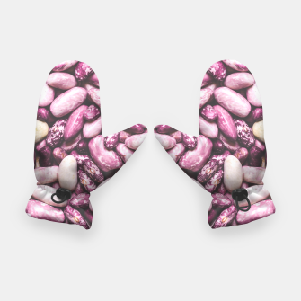Shiny white and purple cool beans Gloves thumbnail image