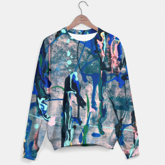 Chrome (action painting) Sweater miniature