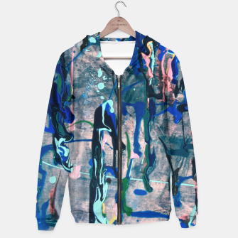 Chrome (action painting) Hoodie miniature