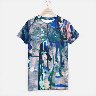 Chrome (action painting) T-shirt miniature