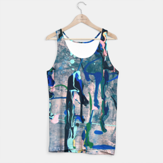 Chrome (action painting) Tank Top miniature