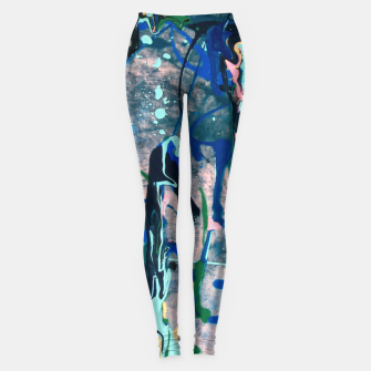 Chrome (action painting) Leggings thumbnail image