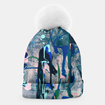 Chrome (action painting) Beanie miniature