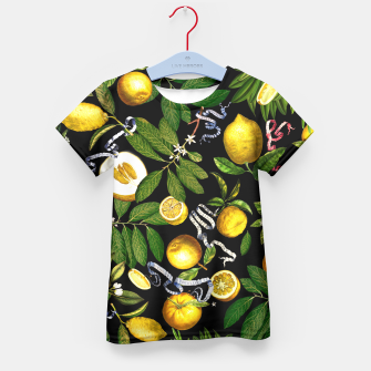 Thumbnail image of Lemon Tree Kid's T-shirt, Live Heroes