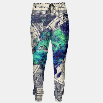 Thumbnail image of world map Sweatpants, Live Heroes