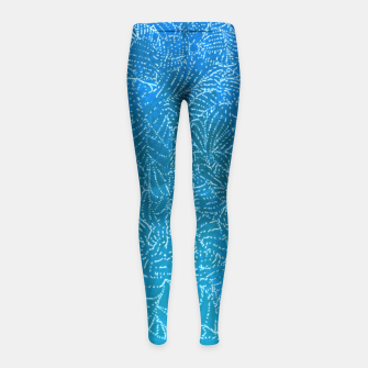 Thumbnail image of fbb Girl's Leggings, Live Heroes