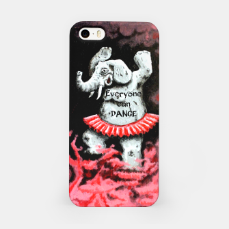 Thumbnail image of Everyone can dance iPhone Case, Live Heroes