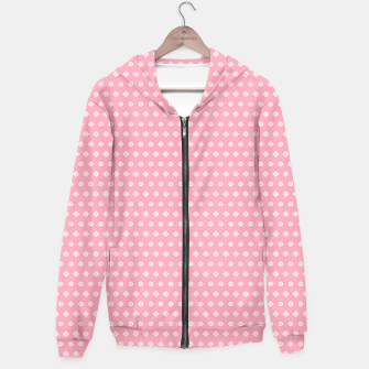 Thumbnail image of Childish pink pattern with cute geometric elements Hoodie, Live Heroes