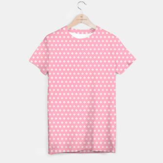Thumbnail image of Childish pink pattern with cute geometric elements T-shirt, Live Heroes