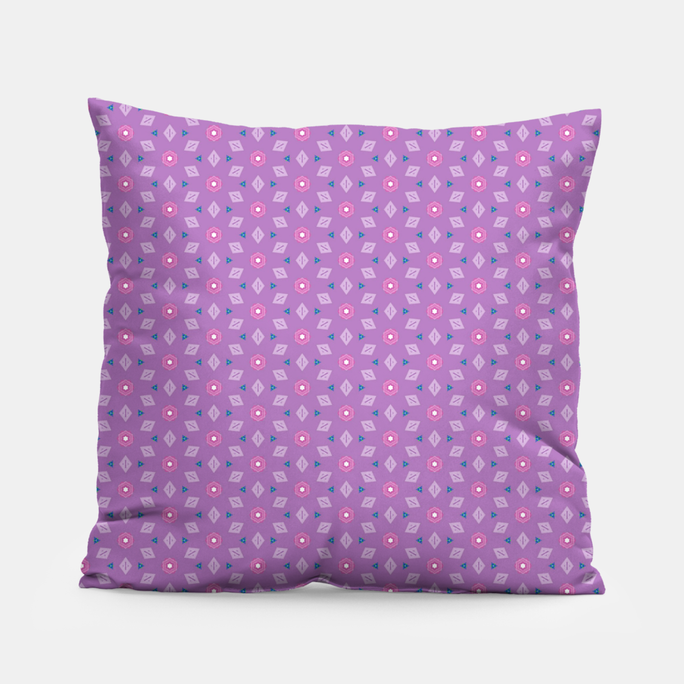 Image of Girly Flowers  Pillow - Live Heroes