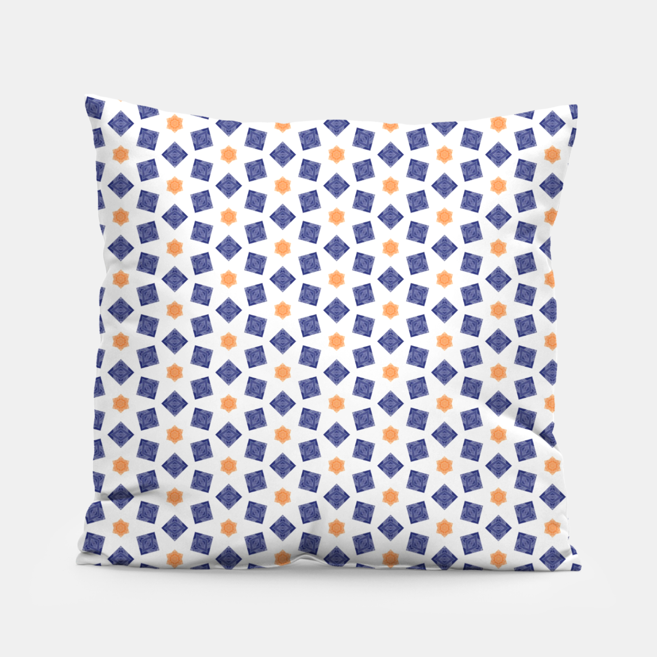 Image of Summer Blue  Pillow - Live Heroes