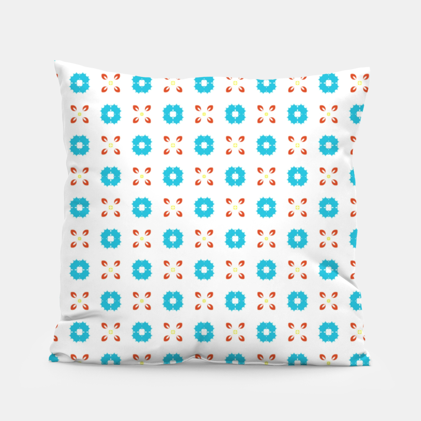 Image of Blue and Red  Pillow - Live Heroes