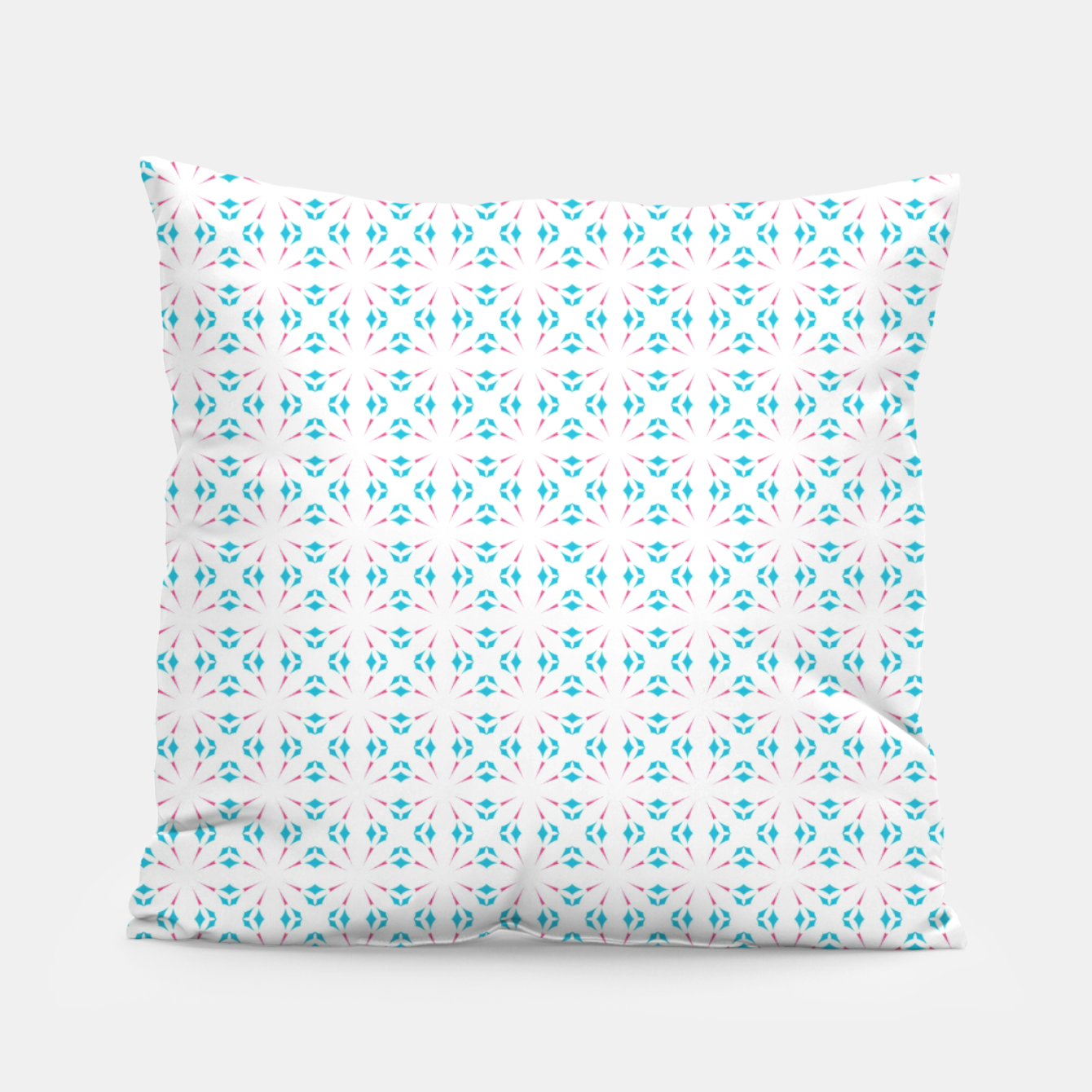 Image of Beautiful blue  Pillow - Live Heroes