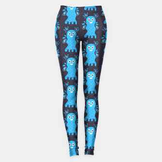 Cute Happy Sea Creature Leggings thumbnail image