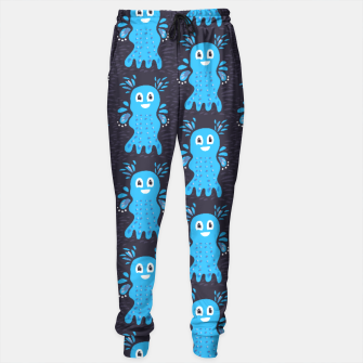 Cute Happy Sea Creature Sweatpants thumbnail image