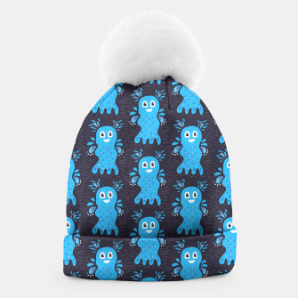 Cute Happy Sea Creature Beanie thumbnail image