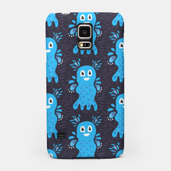 Cute Happy Sea Creature Samsung Case thumbnail image