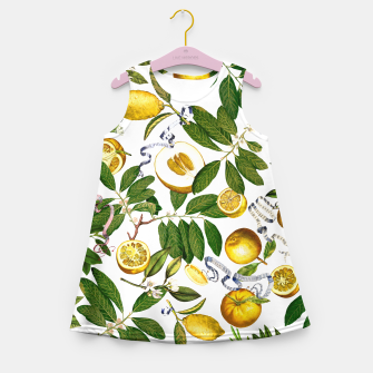 Thumbnail image of Lemon Tree white Kid Summer Dress, Live Heroes