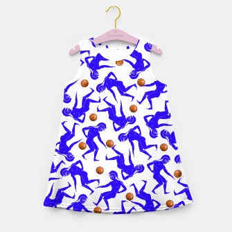 Thumbnail image of Hoplites blue white Kid Summer Dress, Live Heroes